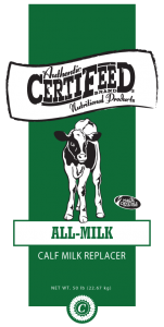 CertiFeeD All-Milk Calf Milk Replacer