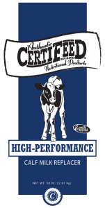CertiFeeD High-Performance Calf Milk Replacer