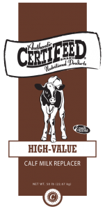 CertiFeeD High-Value Calf Milk Replacer
